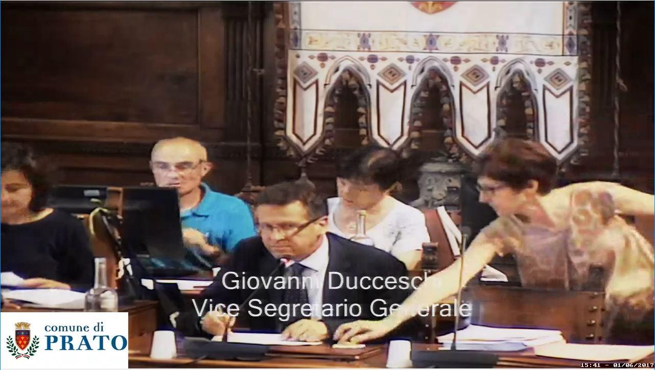 Consiglio Comunale del  1 giugno  2017 ore 15:30