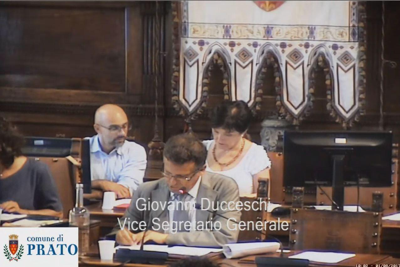 Consiglio Comunale del 1 agosto 2017 ore 9:00