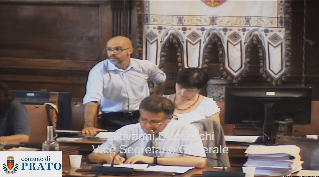 Consiglio Comunale del 1 agosto 2017 ore 13 :00