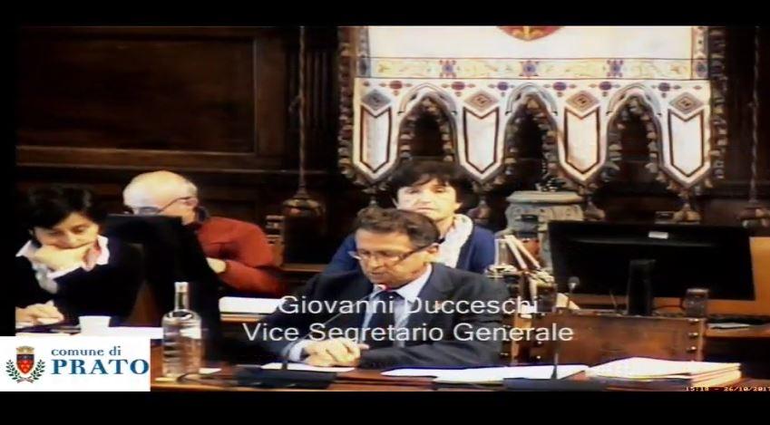 Consiglio Comunale del 26 ottobre 2017 ore 15.00