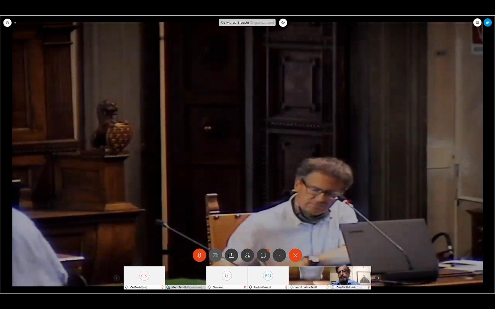 Consiglio Comunale del 06/08/2020 ore 14:30