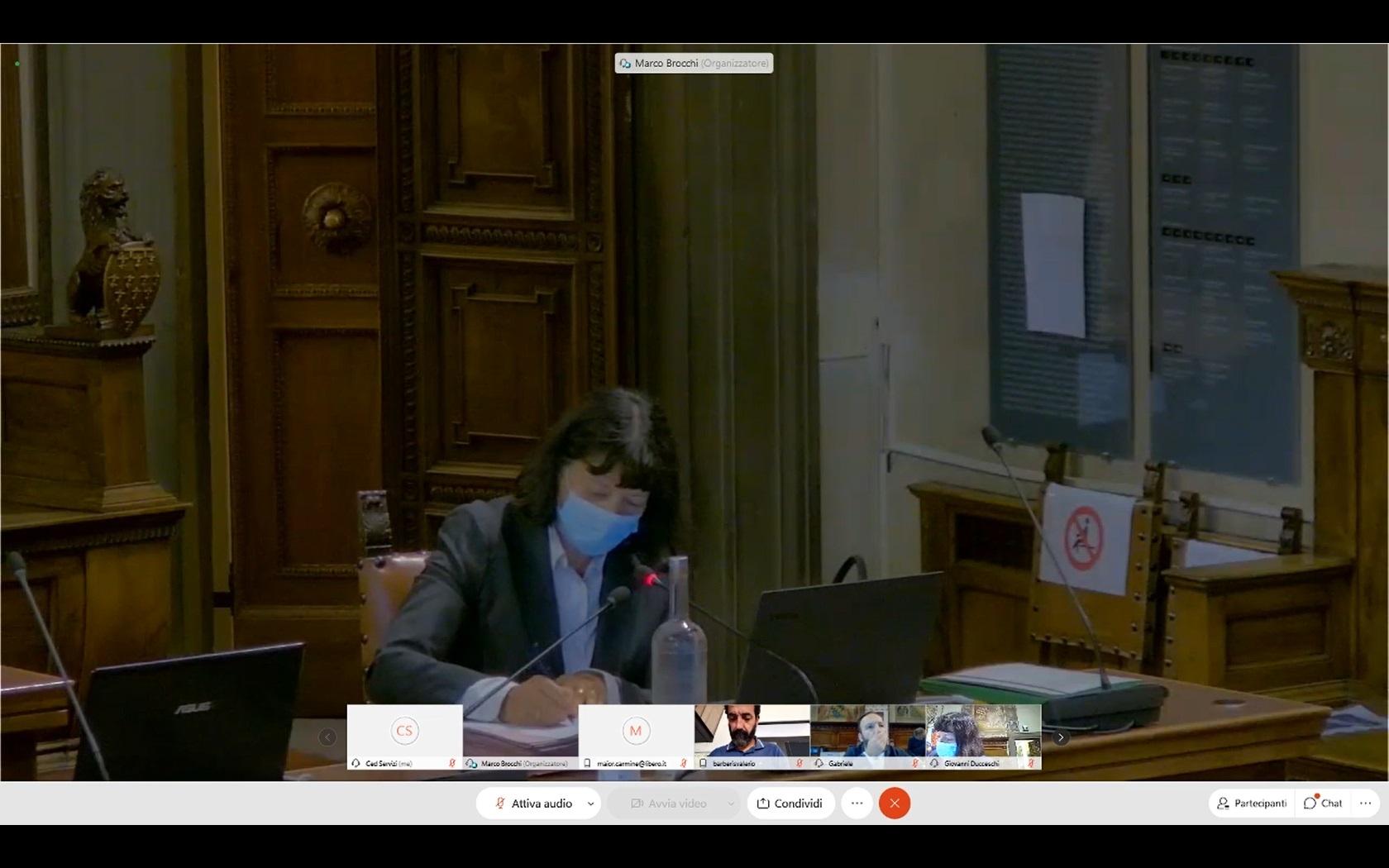 Consiglio Comunale del 01/10/2020 ore 15:00