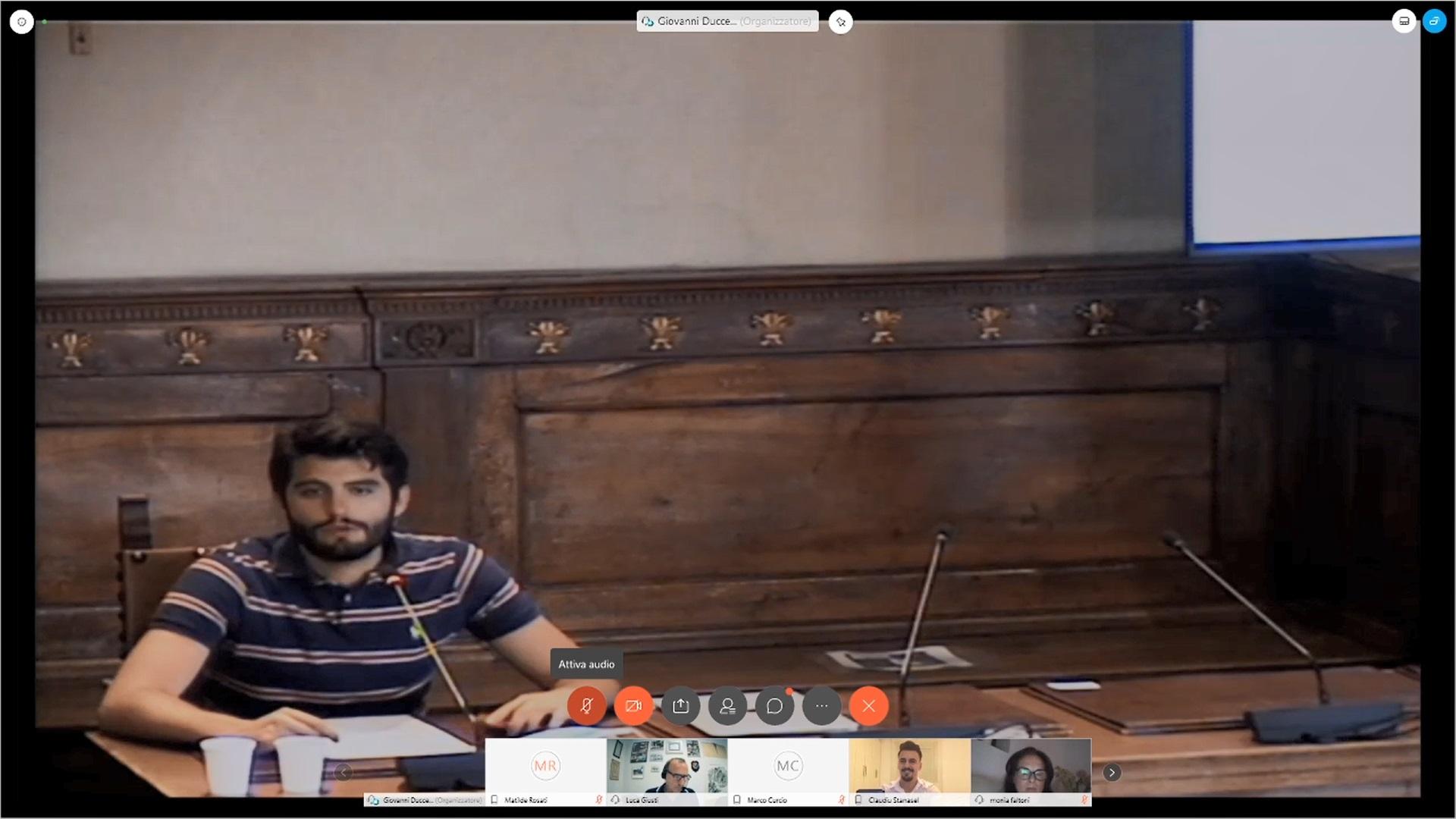 Commissione n. 2 audizione del Presidente della C.C.I.A.A. di Prato, Luca Giusti 17 ore 15:00