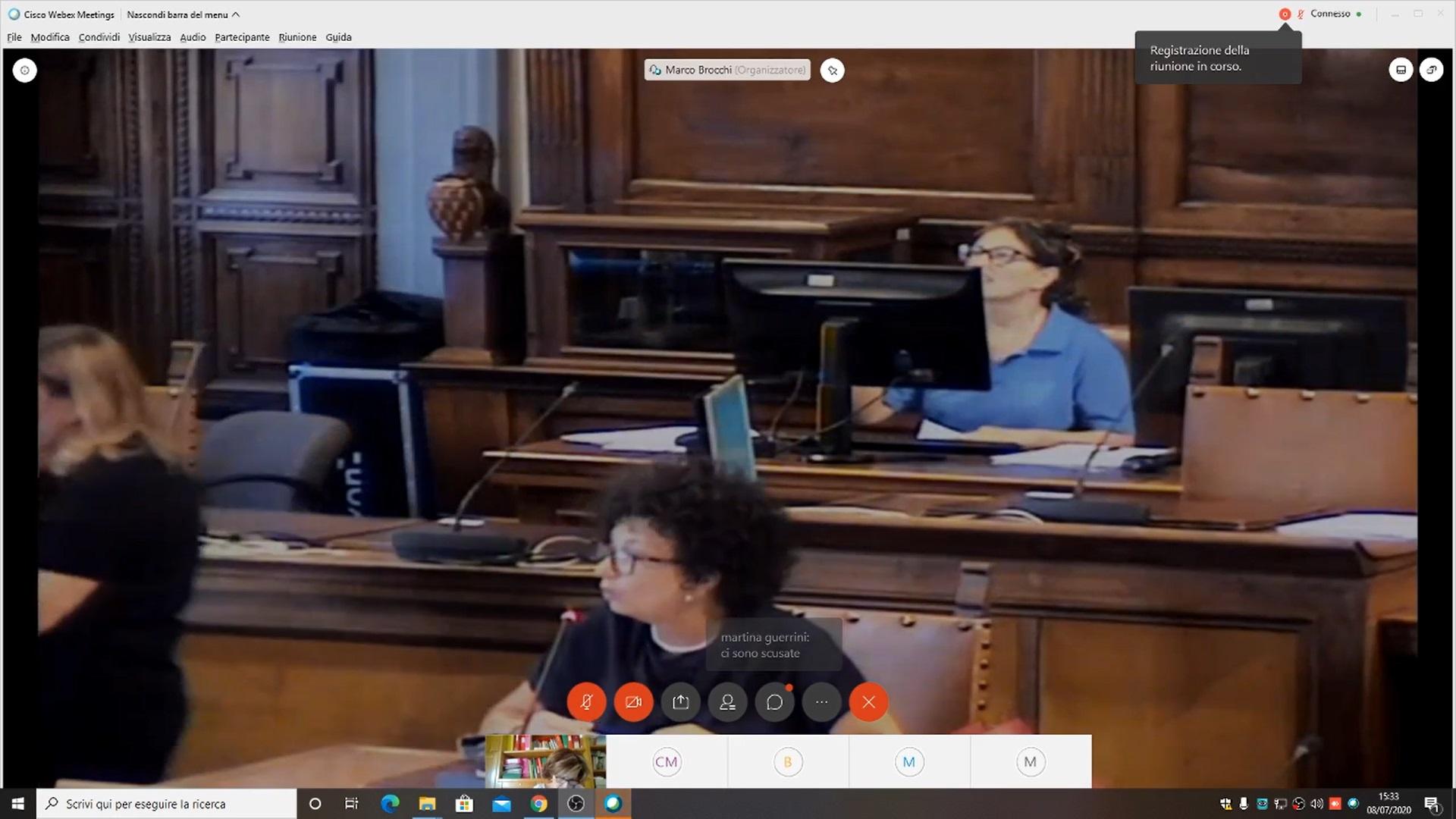 Commissione Consiliare 3 - Mercoledì 8 luglio 2020 ore 15:30