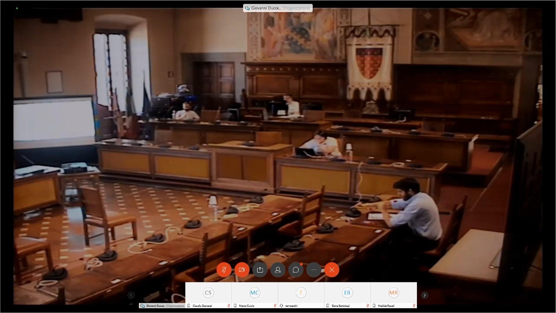Comm. 2  audizione Presidente Confesercenti dr. Lassi e Direttore Confcommercio Dr.Tempestini del 09/07/2020 ore 10:00