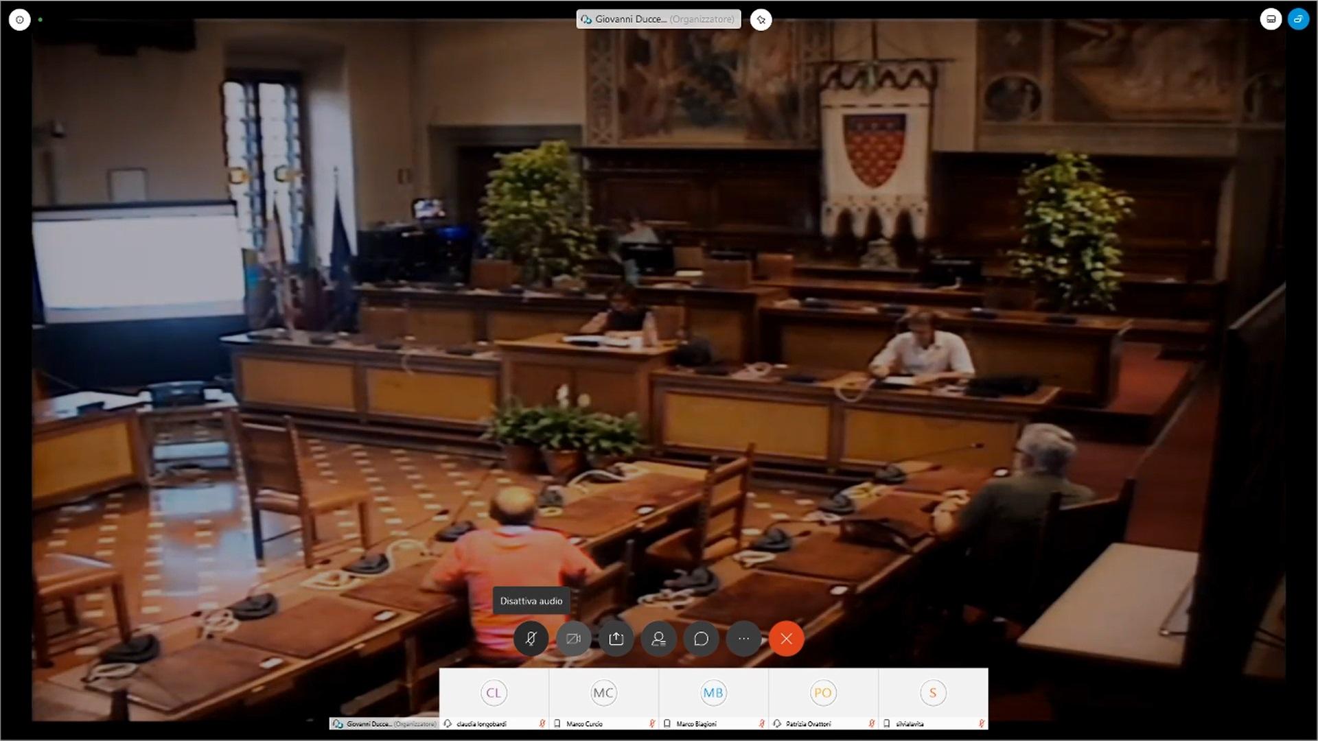 Commissione Consiliare n.5 seduta del 24 luglio 2020 ore 16:00