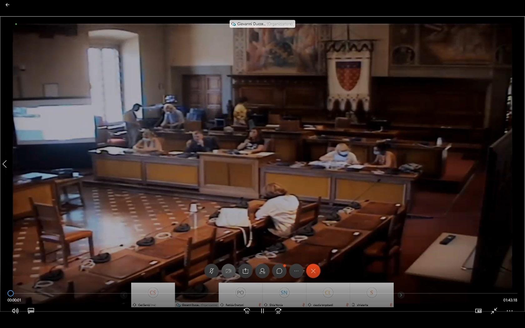 Commissione consiliare 5 29/07/2020 ore 12:00