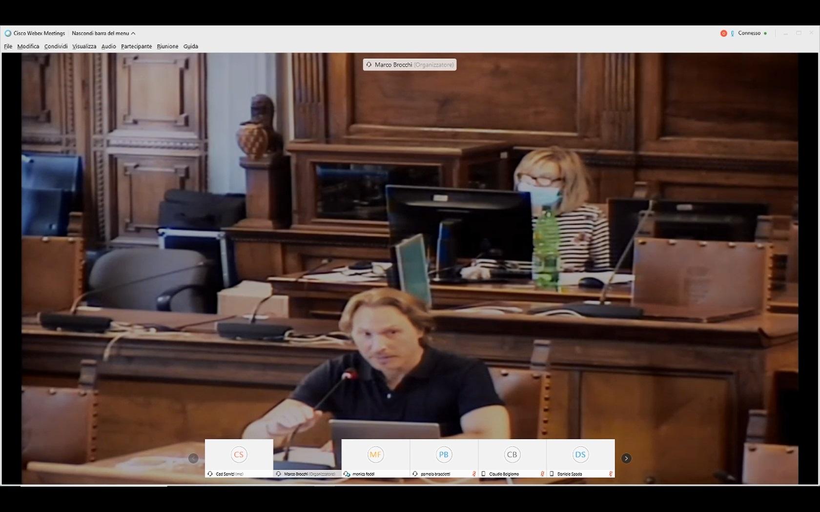Commissioni congiunte 3 e 4 del 30/07/2020 ore 12:30