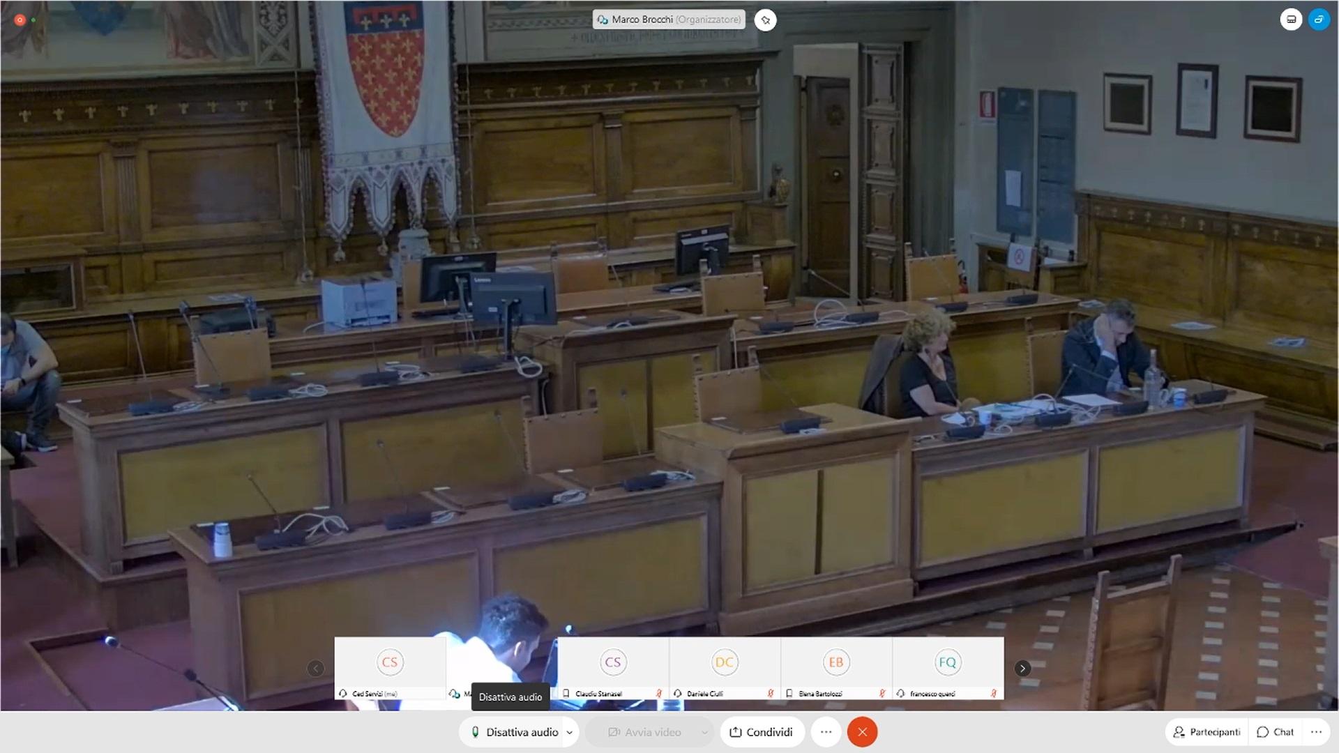 Commissione consiliare n. 2 del 22/09/2020 ore 15:30