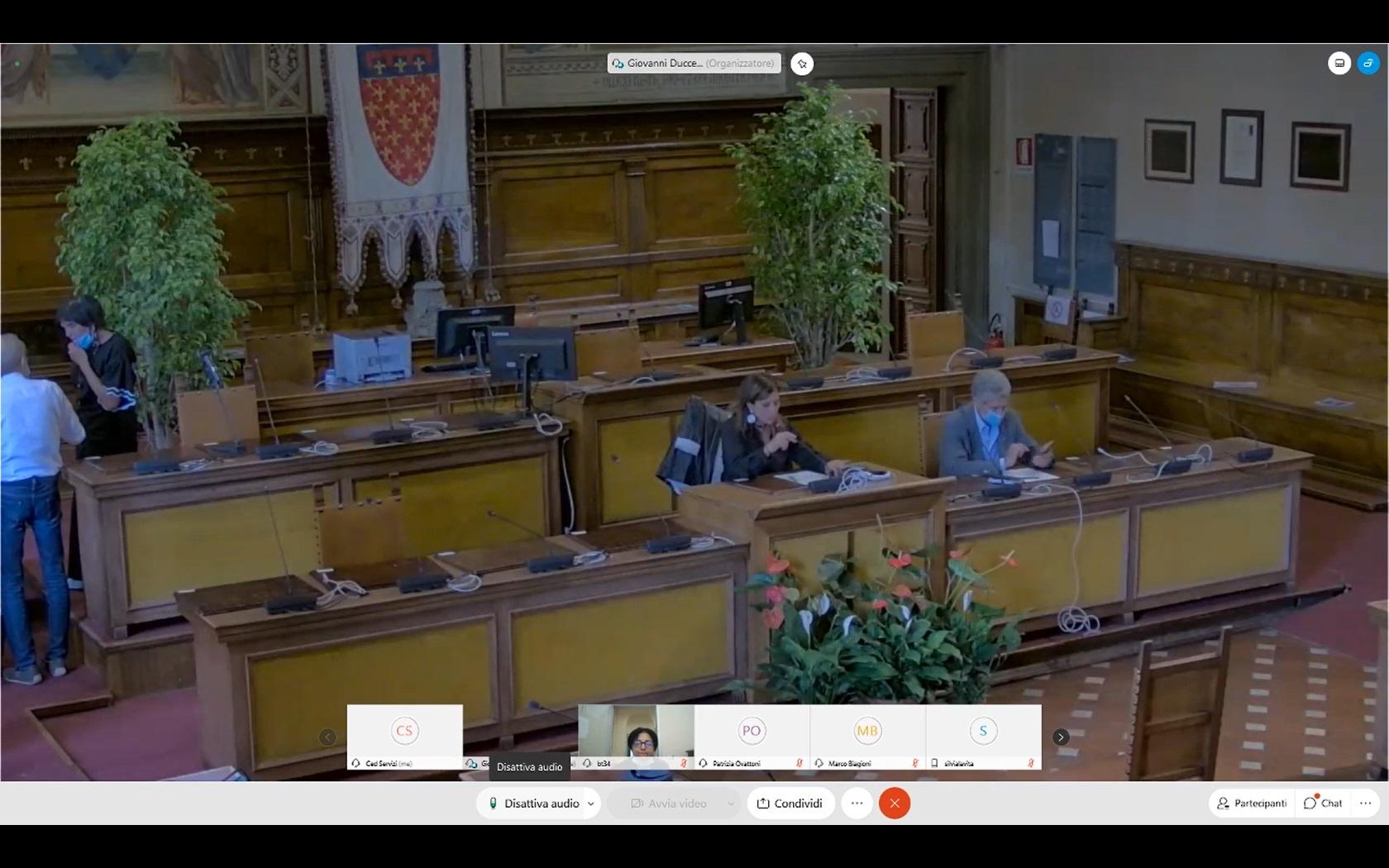 Commissione consiliare n. 5 del 25/09/2020 ore 15:00