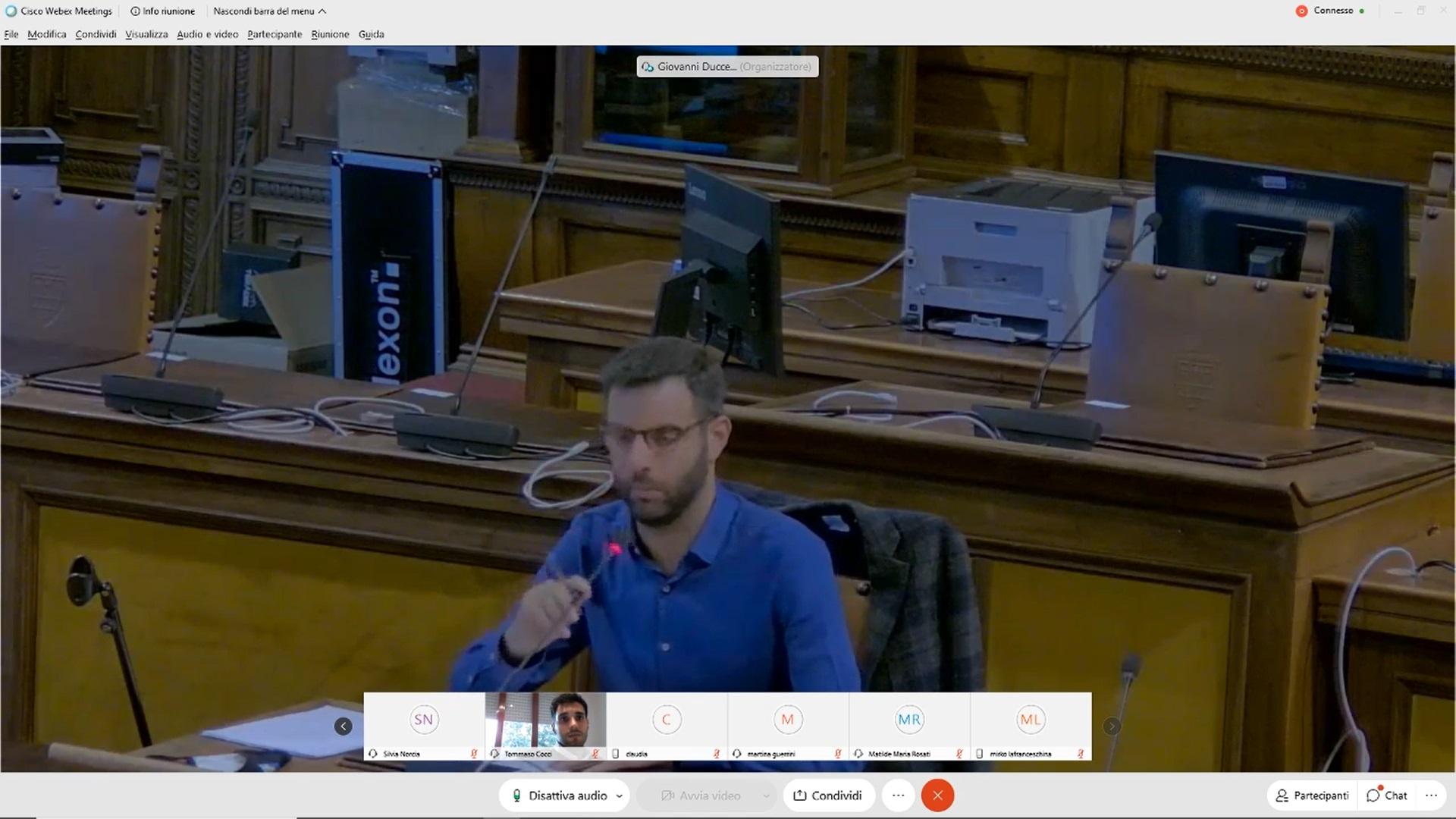 Commissione consiliare n. 1 del 28/09/2020 ore 18:30