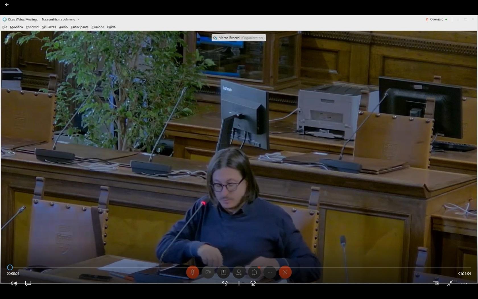 Commissione consiliare n. 6 del 09/10/2020 ore 09:00