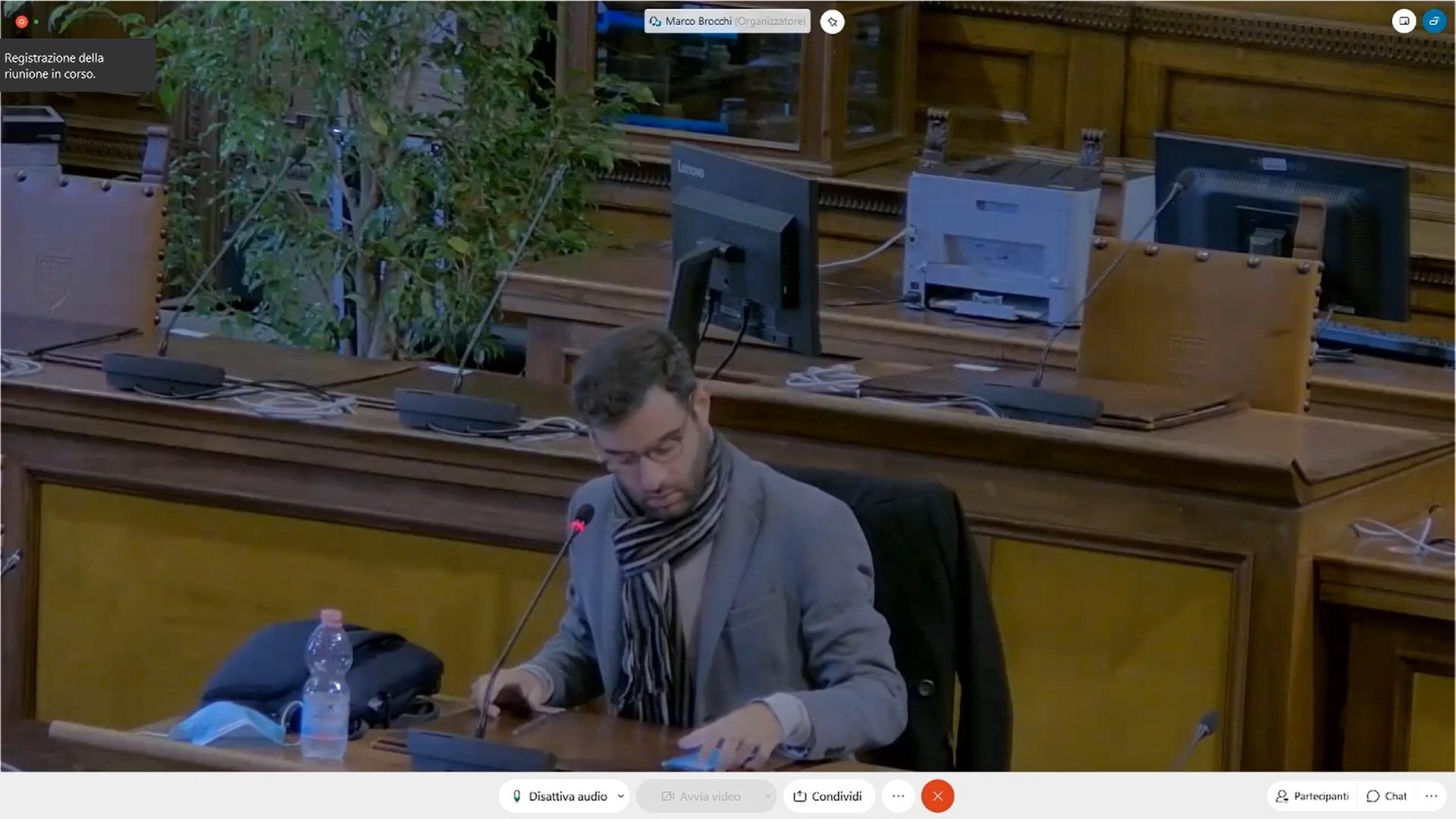 Commissione consiliare n. 1 del 12/10/2020 ore 13:30